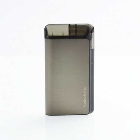 Authentic Suorin Air Plus 930mAh 22W Pod System Starter Kit - Gun Metal, 3.5ml, 0.7ohm / 1.0ohm