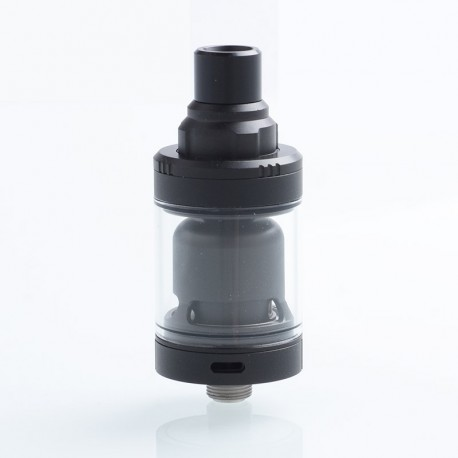 Authentic Ambition-Mods GATE MTL RTA Rebuildable Tank Atomizer - Black, 316 Stainless Steel, 2ml, 22mm Diameter