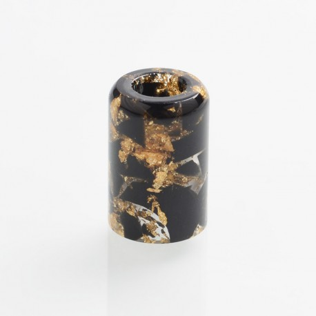 Authentic Reewape AS246 Replacement Drip Tip for Smoant Pasito Kit - Black Gold, Resin