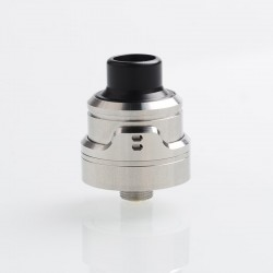 YFTK AIRLab RM (Remastered) Style RDA Rebuildable Dripping Atomizer w/ BF Pin - Silver, 316 Stainless Steel, 22mm Diameter