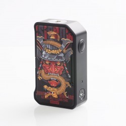 Authentic Dovpo M VV II 280W VV Variable Voltage Box Mod - Dragon Samurai, PC + Zinc Alloy, 1~8V, 2 x 18650