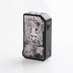 Authentic Dovpo M VV II 280W VV Variable Voltage Box Mod - Hannya, PC + Zinc Alloy, 1~8V, 2 x 18650