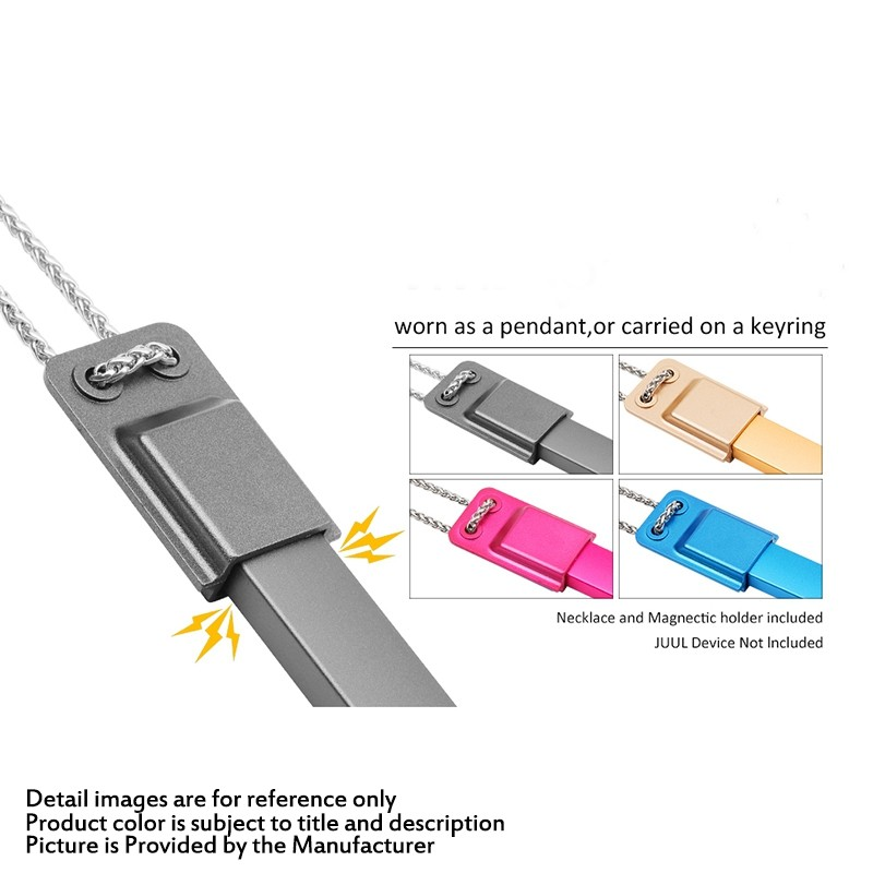 Buy Magnetic Clip Necklace Holder Gold SS ABS for Juul Pod Kit