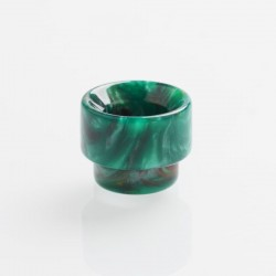 Authentic REEWAPE AS107 Replacement 810 Drip Tip for 528 Goon / Kennedy / Battle / Mad Dog RDA - Green, Resin, 13mm