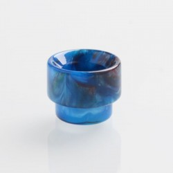 Authentic REEWAPE AS107 Replacement 810 Drip Tip for 528 Goon / Kennedy / Battle / Mad Dog RDA - Blue, Resin, 13mm