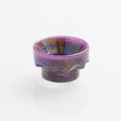 Authentic REEWAPE AS108 Replacement 810 Drip Tip for 528 Goon / Kennedy / Battle / Mad Dog RDA - Purple, Resin, 10mm