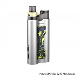 Authentic 510Vape SPAS-12 16W 950mAh Pod System Starter Kit - Silver, Resin + Aluminum Alloy, 0.4ohm / 0.8ohm, 2ml