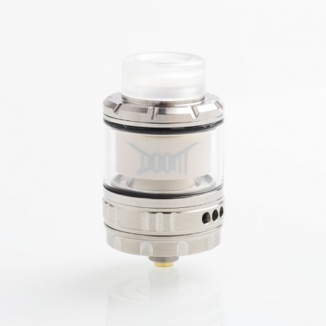 Authentic Damn Vape DOOM Mesh RTA Rebuildable Tank Atomizer - SS, Stainless Steel, 4ml, 26mm Diameter