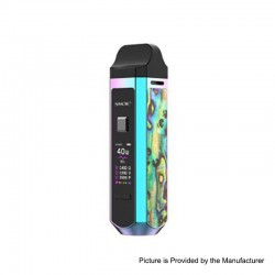 Authentic SMOK RPM40 40W 1500mAh VW Mod Pod System Starter Kit - Rainbow, 1~40W, 4.3ml / 4.5ml, 0.4ohm / 0.6ohm