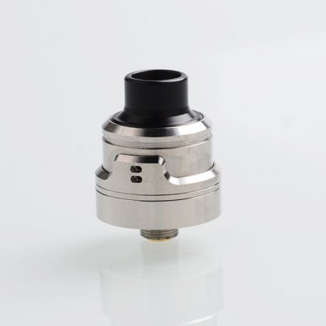 SXK AIRLab RM (Remastered) Style RDA Rebuildable Dripping Atomizer w/ BF Pin - Silver, 316 Stainless Steel, 22mm Diameter