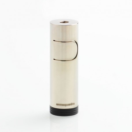 [Ships from Italy] 650 Style Mechanical Mod - Silver, Brass, 1 x 18650
