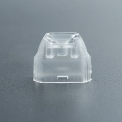 Replacement Drip Tip for Uwell Caliburn Pod System - Transparent, Polypropylene