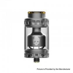 Authentic Dovpo Blotto RTA Rebuildable Tank Atomizer - Gun Metal, 2ml / 6ml, 26mm Diameter