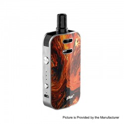 Authentic Syiko Galax 25W 1200mAh Pod System Starter Kit - Volcano, 0.6ohm / 1.2ohm, 2ml