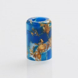 Authentic Reewape AS246 Replacement Drip Tip for Smoant Pasito Kit - Blue Gold, Resin