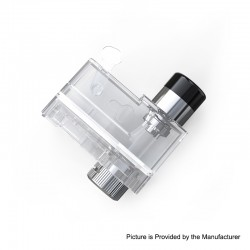 Authentic Artery PAL II Pro Pod System Replacement Empty Pod Cartridge - Transparent, 3ml (Standard Edition)