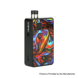 Authentic Artery PAL II 2 Pro 22W 1000mAh Pod System VW Mod Kit - Dazzle Rainbow, 5~22W, 0.6ohm / 1.0ohm, 3ml (Standard Edition)