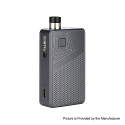 Authentic Artery PAL II 2 Pro 22W 1000mAh Pod System VW Mod Kit - Gunmetal Diamond, 5~22W, 0.6ohm/1.0ohm, 3ml (Standard Edition)