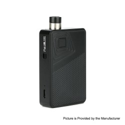 Authentic Artery PAL II 2 Pro 22W 1000mAh Pod System VW Mod Kit - Black Diamond, 5~22W, 0.6ohm / 1.0ohm, 3ml (Standard Edition)