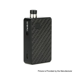 Authentic Artery PAL II 2 Pro 22W 1000mAh Pod System VW Mod Kit - Black Carbon Fiber, 5~22W, 0.6ohm, 3ml (Standard Edition)