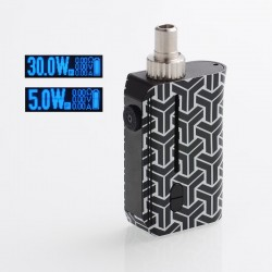 Authentic Squid Industries Squad 30W 950mAh VW Pod System Kit - Samurai, 5~30W, 2ml, 0.6 ohm