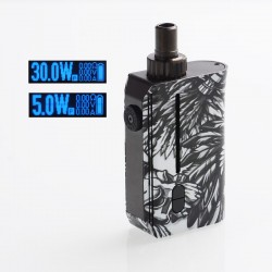 Authentic Squid Industries Squad 30W 950mAh VW Pod System Kit - Chieftain, 5~30W, 2ml, 0.6 ohm