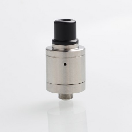 Kindbright Speed 2019 Style RDA Rebuildable Dripping Atomizer w/ BF Pin - Silver, 316 Stainless Steel, 18mm Diameter