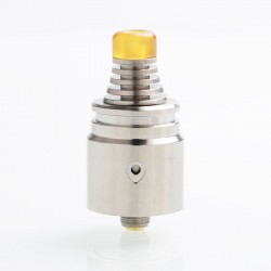 Authentic Vandy Vape Berserker V2 MTL RDA Rebuildable Dripping Atomizer - Silver, 1.5ml, Stainless Steel, 22mm