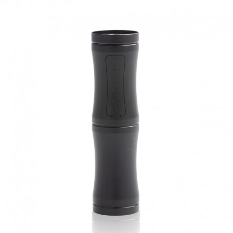 Authentic Ambition Mods Luxem MOSFET Semi-Mechanical Tube Mod - Black, 1 x 18350 / 18650, 23mm Diameter