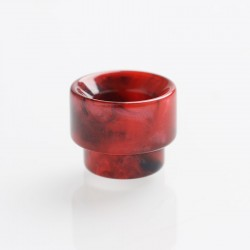 Authentic REEWAPE AS107 Replacement 810 Drip Tip for 528 Goon / Kennedy / Battle / Mad Dog RDA - Red, Resin, 13mm