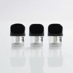 Authentic SMOKTech SMOK Novo 2 Pod System Replacement DC Pod Cartridge w/ 1.4ohm MTL Coil - 2ml (3 PCS)