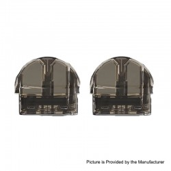 Authentic VEIIK MOOS Pod System Replacement Pod Cartridge w/ 1.2ohm Ceramic Coil - Black, 2ml (2 PCS)
