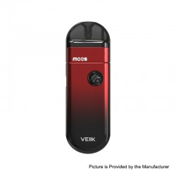 Authentic VEIIK MOOS 1100mAh Pod System Vape Starter Kit - Red, 1.2ohm, 2ml