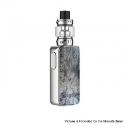 [Ships from HongKong] Authentic Vaporesso LUXE S 220W TC VW Box Mod + SKRR-S Tank Atomizer Kit - Marble-ZV, 5~200W, 8ml, 2x18650