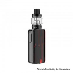 [Ships from HongKong] Authentic Vaporesso LUXE S 220W TC VW Box Mod + SKRR-S Tank Atomizer Kit - Red, 5~200W, 8ml, 2 x 18650