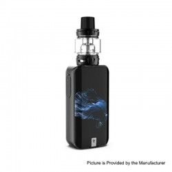 [Ships from HongKong] Authentic Vaporesso LUXE S 220W TC VW Box Mod +SKRR-S Tank Atomizer Kit - Betta Fish, 5~200W, 8ml, 2x18650