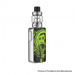 [Ships from HongKong] Authentic Vaporesso LUXE S 220W TC VW Box Mod + SKRR-S Tank Atomizer Kit - Green Ape, 5~200W, 8ml, 2x18650