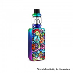 [Ships from HongKong] Authentic Vaporesso LUXE S 220W TC VW Box Mod + SKRR-S Tank Atomizer Kit - Monster Mash, 5~200W, 2 x 18650