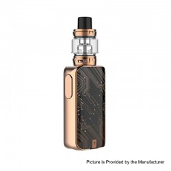 [Ships from HongKong] Authentic Vaporesso LUXE S 220W TC VW Box Mod + SKRR-S Tank Atomizer Kit - Bronze, 5~200W, 8ml, 2 x 18650