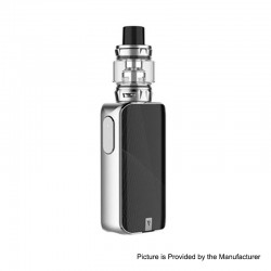 [Ships from HongKong] Authentic Vaporesso LUXE S 220W TC VW Box Mod + SKRR-S Tank Atomizer Kit - Silver, 5~200W, 8ml, 2 x 18650