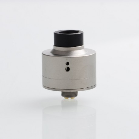 Haku Venna Style RDA Rebuildable Dripping Atomizer w/ BF Pin - Silver, Stainless Steel, 22mm Diameter
