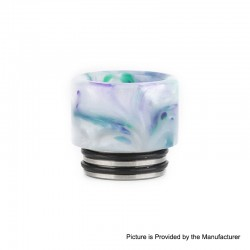 Authentic Reewape AS151 Replacement 810 Drip Tip for TFV8 / TFV12 Tank / Goon / Kennedy / Reload RDA - White, Resin, 15mm