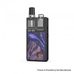 Authentic Lost Vape Orion Plus DNA 22W 950mAh VW Pod System Starter Kit - Black-Stabwood, 0.25 / 0.5ohm, 2ml