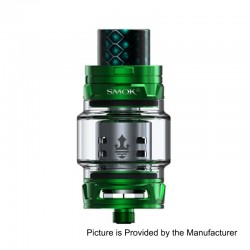 [Ships from HongKong] Authentic SMOKTech SMOK TFV12 Prince Standard Edition Sub Ohm Tank - Green, Stainless Steel, 8ml, 28mm