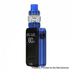[Ships from HongKong] Authentic Eleaf iStick Nowos 80W 4400mAh Box Mod + ELLO Duro Tank Kit - Blue, 6.5ml, 28mm Diameter
