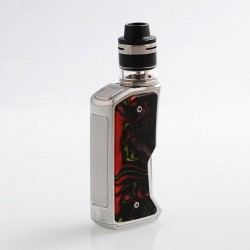 [Ships from HongKong] Authentic Aspire Feedlink Squonk Box Mod + Revvo Boost Tank Kit - Silver + Sunset Red, 1 x18650, 7ml + 2ml