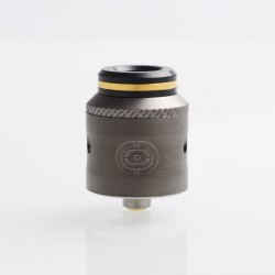 Authentic Augvape Occula RDA Rebuildable Dripping Atomizer w/ BF Pin - Gun Metal, Stainless Steel, 24mm Diameter