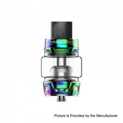 [Ships from HongKong] Authentic Vaporesso Skrr Sub Ohm Tank Clearomizer - Rainbow, Stainless Steel, 8ml, 30mm Diameter