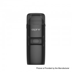 [Ships from HongKong] Authentic Aspire Breeze NXT 1000mAh Pod System Starter Kit - Black, Zinc Alloy + Silicone, 0.8ohm, 5.4ml