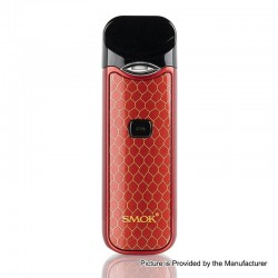 [Ships from HongKong] Authentic SMOKTech SMOK Nord 15W 1100mAh Pod System - Red, 1.4 Ohm / 0.6 Ohm, 3ml (Standard Edition)